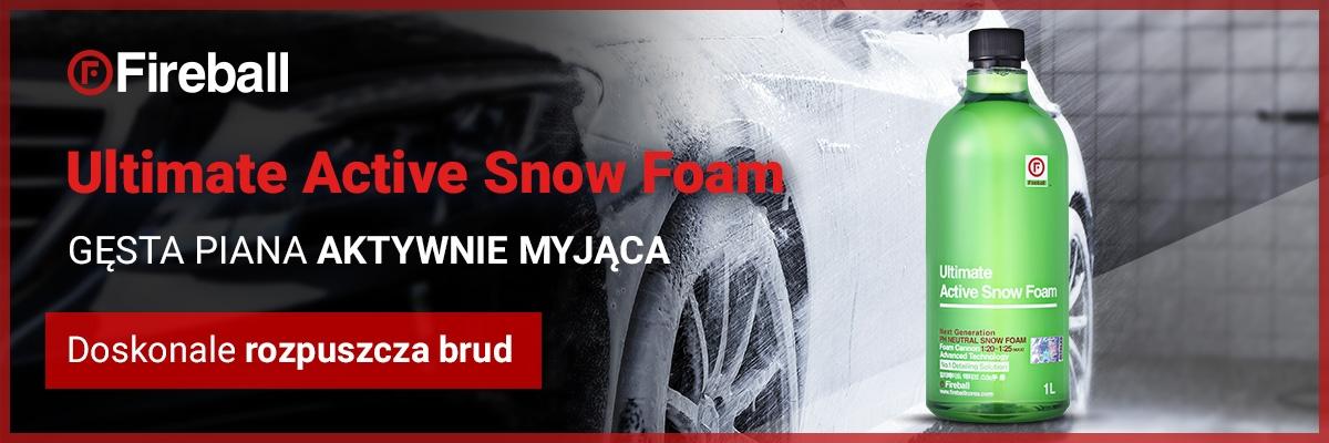 Ultimate active snow foam fireball