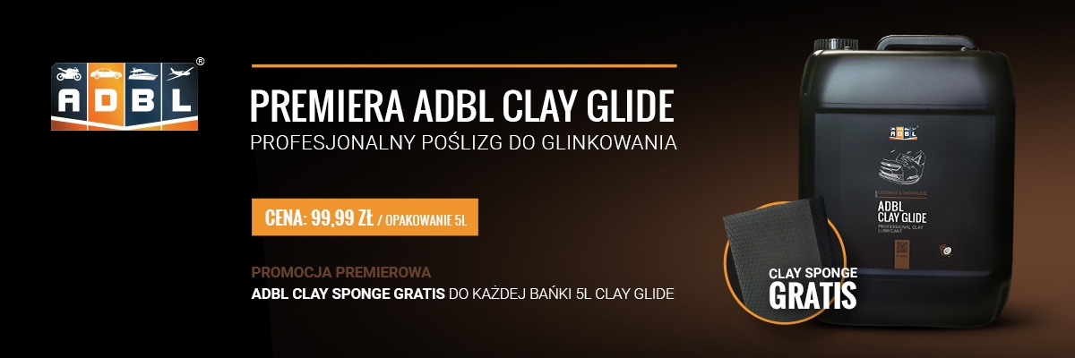 ADBL Clay Glide and Clay Sponge for Free