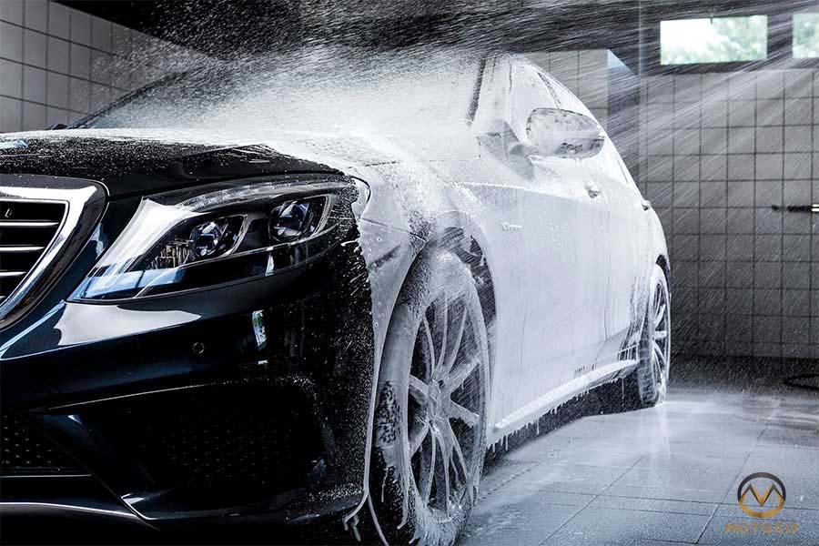 Aktywna piana do mycia samochodu. RANKING