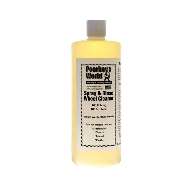 Poorboy's Spray and Rinse Wheel Cleaner 946ml(at.) - kwaśny środek do mycia felg