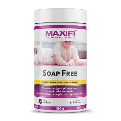 Maxifi Soap Free 500g - bonnetowanie