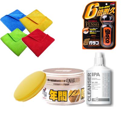 Zestaw Soft99 Fusso + IPA + Glaco