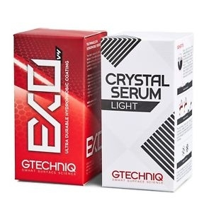GTECHNIQ Zestaw Power Couple: Crystal Serum Light + EXO V4