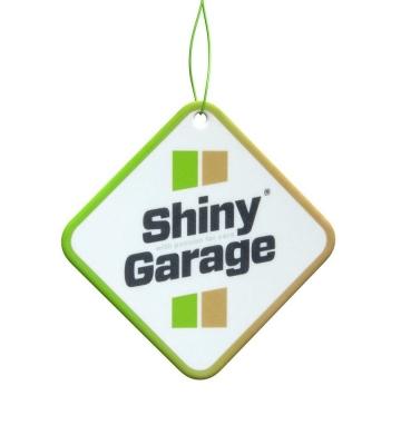 Shiny Garage Square Air Freshener Cinnamon&Apple