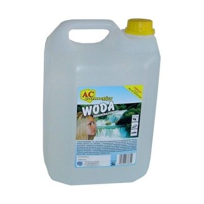 Woda destylowana/demineralizowana 5L