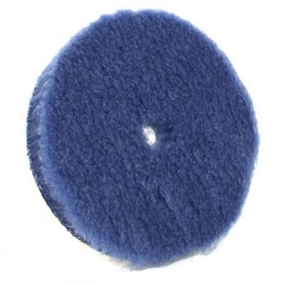 Lake Country Hybrid Wool Pad 130mm - Niebieskie Futro