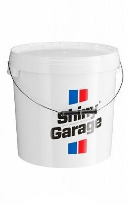 Shiny Garage Wiadro 20L Białe