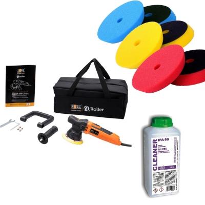 ADBL Roller DA09125-01+ B + torba + Zestaw padów Super Shine + IPA
