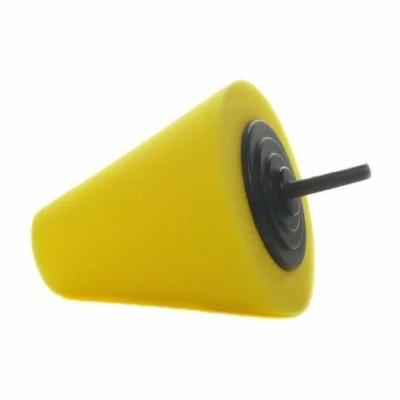 LARE szyszka polerska 80mm żółta