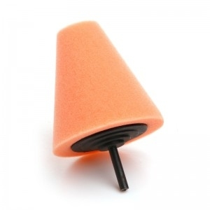 LARE szyszka polerska 80mm pomarańczowa