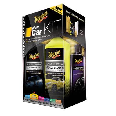 Meguiar's New Car Kit - zestaw do pielęgnacji lakieru