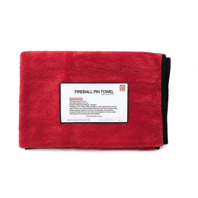 Fireball PIN Towel RED – LIMITED EDITION 72 x 95cm
