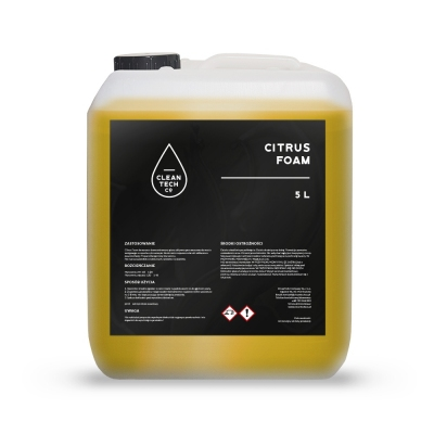 CleanTech Citrus Foam 5L - piana aktywna