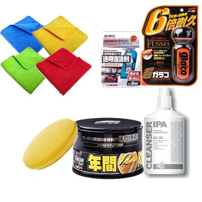 Zestaw Soft99 Fusso + IPA + Glaco + Nano Hard Clear