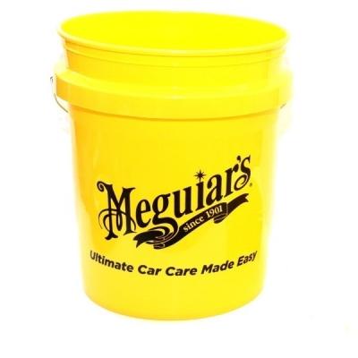 Meguiar's Professional Wash Bucket - Yellow