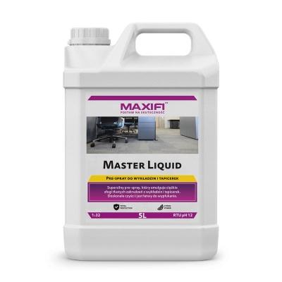 Maxifi Master Liquid 5L - mocny prespray ukierunkowany na tłuste zabrudzenia