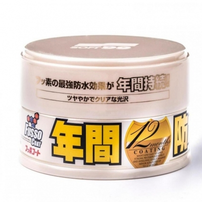 Soft99 Fusso Coat 12 Months Wax Light Colour Wax 200g