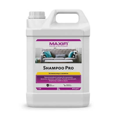 Maxifi Shampoo pro 5L - płyn do bonnetowania