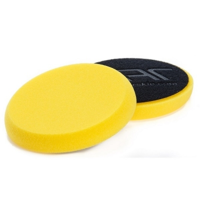 NAT Żółta Średnia gąbka polerska 135mm