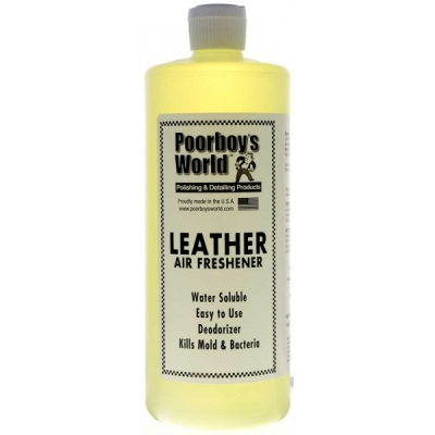 Poorboy's Air Freshener Leather 946ml