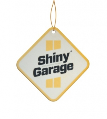 Shiny Garage Square Air Freshener Pinacolada