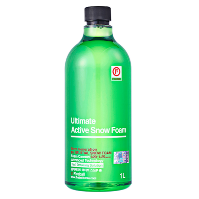 Fireball Ultimate Active Snow Foam 1L piana aktyna do powłok i wosków