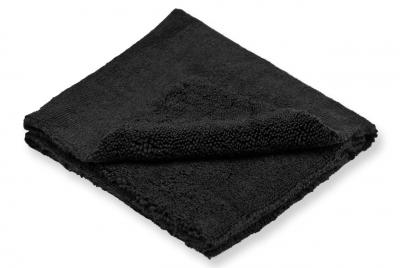 WaxPRO NoLimit Plush Black Mikrofibra 420gsm 40x40cm