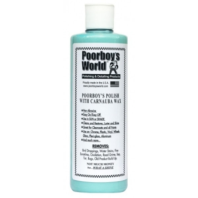 Poorboy's Polish with Carnauba Blue 473ml