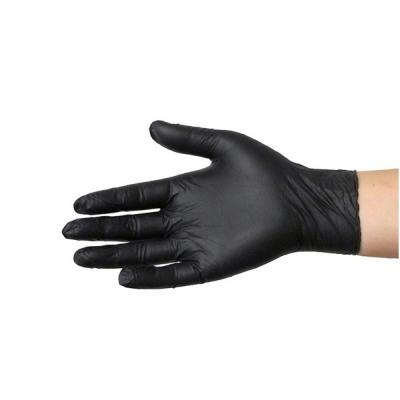 Rękawiczki nitrylowe czarne 1 szt. (różne rozmiary)