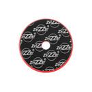 ZviZZer Trapez Red Pad Heavy Cut Ø165/25/150mm, czerwona gąbka polerska tnąca