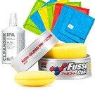 Soft99 Fusso Coat 12 Months Wax Light New Formula zestaw