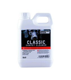 ValetPRO Classic Carpet Cleaner 1L - środek do prania tapicerki, dywanów