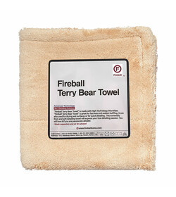 Fireball Terry Bear Buffing Towel 40 x 40cm