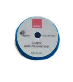 RUPES Tarcza polerska z wełny 50/65mm Blue wool niebieska coarse
