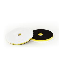 NAT Pad Mikrofibrowy Mocno Agresywny Twardy (żółty) 150mm DA