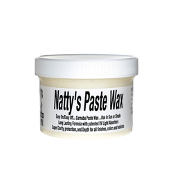 Poorboy's Natty's Paste Wax White 235ml - wosk z carnaubą