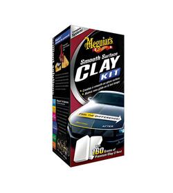 Meguiar's Smooth Surface Clay Kit - zestaw do glinkowania