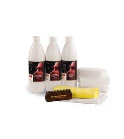 Ottimo Prof. Car Leather Cleaning Set - Detailer Edition - zestaw do pielęgnacji tapicerki skózanej