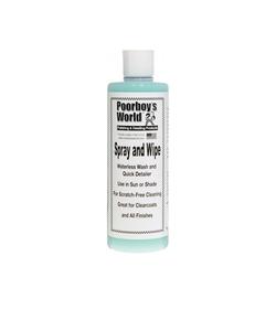Poorboy's Spray & Wipe 473ml(at.) - środek do mycia auta bez użycia wody