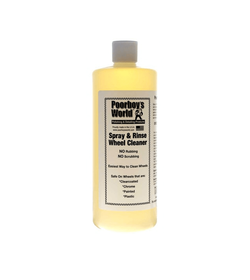 Poorboy's Spray and Rinse Wheel Cleaner 946ml(at.) - kwaśny środek do mycia felg