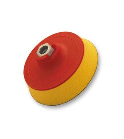 Flexipads Talerz mocujący 125mm z rzepem M14 Soft-żółty
