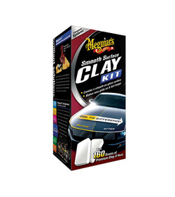 Meguiar's Smooth Surface Clay Kit - zestaw do glinkowania