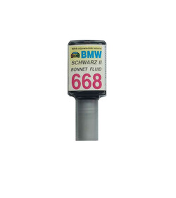 Zaprawka 668 Schwarz II BMW 10ml