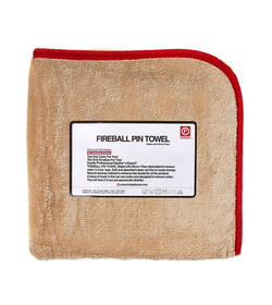 Fireball PIN Towel 72 x 95 RED