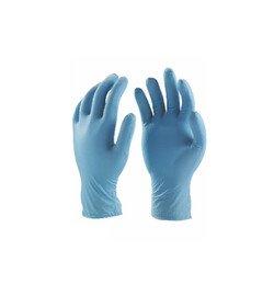 Rękawiczki rozmiar S 100sztuk niebieskie
