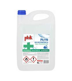Plak płyn higieniczny do dezynfekcji rąk 4L