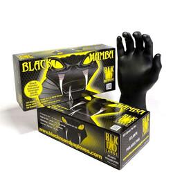 Rękawiczki Black Mamba S 100szt