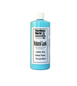 Poorboy's Natural Look 946ml - dressing do wnętrza, plastiki, guma, winyle