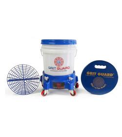 Grit Guard Complete Washing System Niebieski - zestaw akcesoriów do mycia