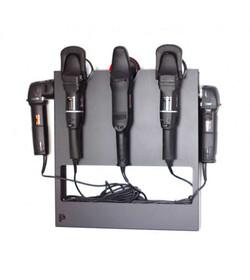 Prostokątny wieszak na trzy do pięciu maszyn polerskich